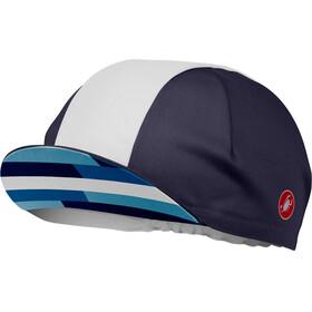 Castelli A Bloc Headwear Men blue/white